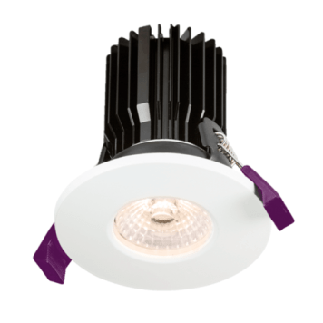 KnightsBridge IP65 Fire Rated COB LED Downlight With Adjustable Colour