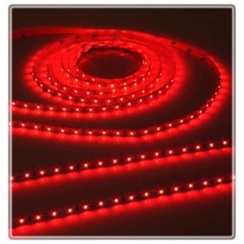 KnightsBridge Red 12V LED IP20 Flexible Indoor Internal Rope Lighting Strip - 5 Meter