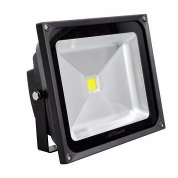 Lighthouse IP65 Ultra Efficient LED Black Aluminium Floodlight - 50 Watt