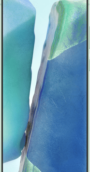 Samsung Galaxy Note20 5G (256GB Mystic Green) at £29.00 on Unlimited (24 Month(s) contract) with UNLIMITED mins; UNLIMITED texts; UNLIMITEDMB of 5G data. £66.00 a month.