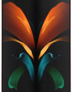 Samsung Galaxy Z Fold2 5G (256GB Mystic Bronze) at £299.00 on Unlimited Max (24 Month(s) contract) with UNLIMITED mins; UNLIMITED texts; UNLIMITEDMB of 5G data. £99.00 a month.