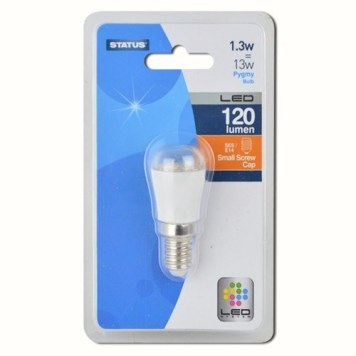 Status 1.3W LED Small Edison Screw Pygmy Bulb