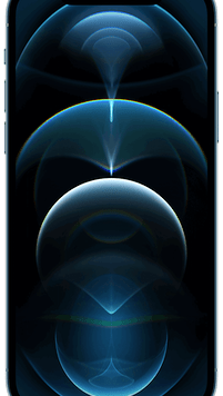Apple iPhone 12 Pro 5G (128GB Pacific Blue) at £29.00 on Red SIM Only (24 Month(s) contract) with UNLIMITED mins; UNLIMITED texts; 100000MB of 5G data. £69.00 a month.