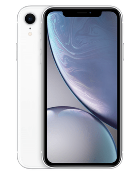 Apple iPhone XR (64GB White) at £29.00 on Red (24 Month(s) contract) with UNLIMITED mins; UNLIMITED texts; 24000MB of 5G data. £47.00 a month.