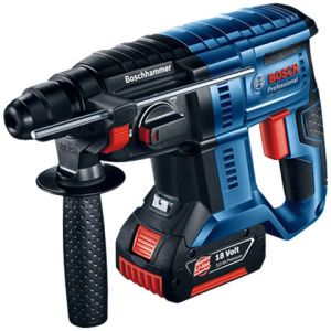 Bosch Bosch GBH 18 V-20 Professional SDS-Plus 18V Rotary Hammer (with 2 x 5.0 Ah batteries, AL 1860 CV charger in an L-BOXX)