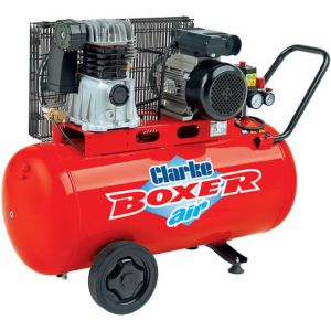 Clarke Clarke Boxer 14/100P 14cfm 100Litre 3HP Belt Driven Air Compressor (230V)