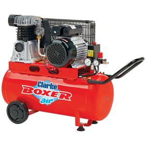 Clarke Clarke Boxer 14/50P 14cfm 50Litre 3HP Belt Driven Air Compressor (110V)