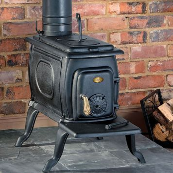 Clarke Clarke Boxwood Cast Iron Wood Burning Stove
