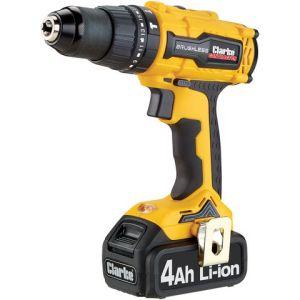 Clarke Clarke CON180LI 18V Brushless 4.0Ah Combi Drill/Driver & Hammer Drill