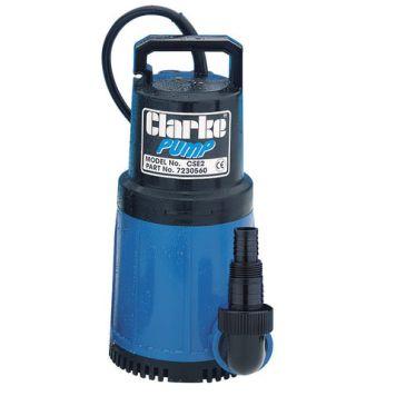 """Clarke Clarke CSE2 1¼"""" 750W 253Lpm 10m Head Submersible Water Pump (230V)"""