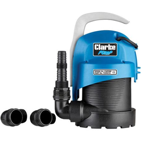 "Clarke Clarke CWP200 1 1/4"" 220W 95Lpm 5.5m Head Submersible Clean Water Pump (230V)"