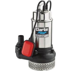 "Clarke Clarke DWP200A 2"" 1500W 600Lpm 10m Head Submersible Dirty Water Pump With Float Switch (230V)"