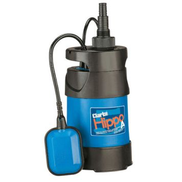 "Clarke Clarke HIPPO 5A 1¼"" 750W 208Lpm 8.5m Head Submersible Pump With Float Switch"