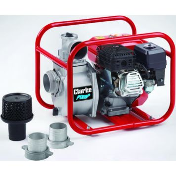 "Clarke Clarke PW80A 3"" Petrol Powered Water Pump"