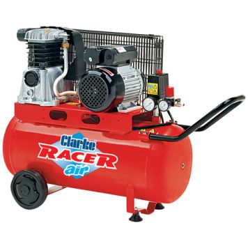 Clarke Clarke Racer 9/50P 9cfm 50Litre 2HP Belt Driven Air Compressor (230V)