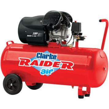 Clarke Clarke Raider 15/1050 100 Litre V-Twin Air Compressor (2.2kW / 3HP)
