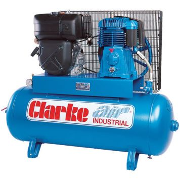 Clarke Clarke SD26KE150 25cfm 150Litre 8.4HP Electric Start Diesel Stationary Air Compressor
