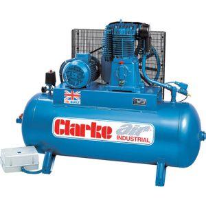 Clarke Clarke SE46C270 40cfm 270Litre 10HP Industrial Air Compressor (400V)