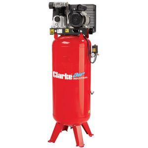 Clarke Clarke VE18C150 (OL) 18cfm 150Litre 4HP Industrial Vertical Air Compressor (230V)