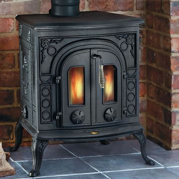 Clarke Clarke Victoria Cast Iron Wood Burning Stove