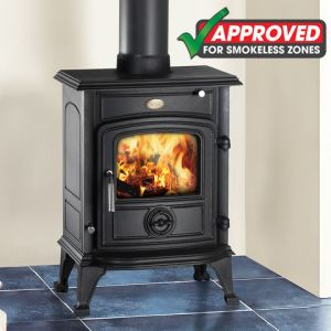 Clarke Clarke Wentworth Smokeless Zone Approved Cast Iron Multi Fuel Stove