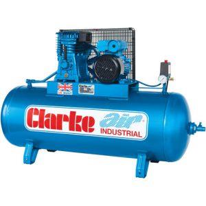 Clarke Clarke XE15/150 (OL) 14cfm 150Litre 3HP Industrial Air Compressor (230V)
