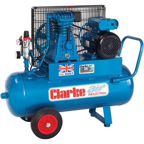 Clarke Clarke XEP15/50 (OL) 14cfm 50Litre 3HP Portable Industrial Air Compressor (110V)