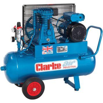Clarke Clarke XEP15/50(OL) 14cfm 50Litre 3HP Portable Industrial Air Compressor (230V)