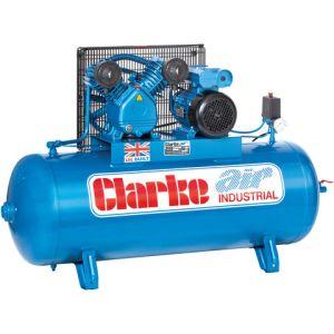 Clarke Clarke XEV16/150 (WIS) 14cfm 150Litre 3HP Industrial Air Compressor (400V)