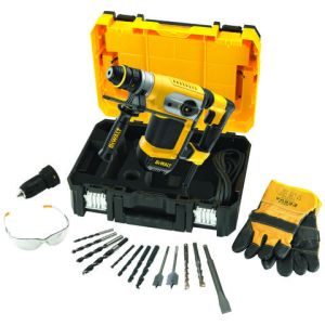 DeWalt DeWalt D25417KT-GB 4kg SDS+ Combination Hammer Drill (230V)