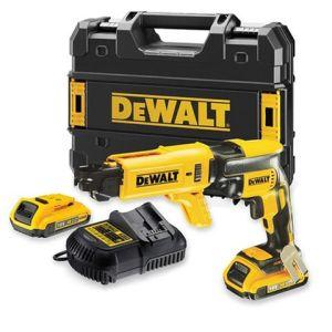 DeWalt DeWalt DCF620P2K 18V Li-Ion Drywall Screwdriver with 2x5.0Ah Batteries