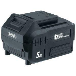 Draper Draper D20B5.0AH D20 20V Lithium Ion Battery (5.0Ah)