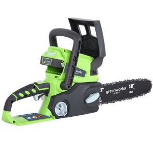 Greenworks Greenworks GWG24CSK2 25cm 24V Cordless Chainsaw with 1 x 2Ah Battery