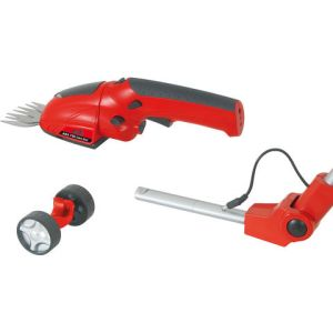 Machine Mart Xtra Grizzly AGS720Lion Battery Powered Grass/Hedge Shears Set & Battery