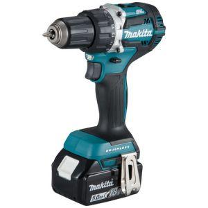 Makita Makita DDF484RTJ 18V LXT BL Brushless Cordless Drill/Driver with 2 x 4Ah Batteries