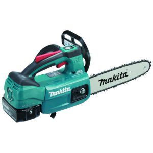 Makita Makita DUC254RT 25cm 18V Brushless Top Handle Chainsaw LXT Kit with 5Ah Battery and Fast Charger.