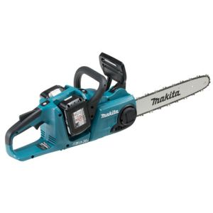 Makita Makita DUC353PG2 Twin 18V Brushless Chainsaw 35cm with 2x 6.0Ah Batteries and DC18RD Twin Port Charger