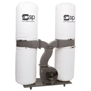 SIP SIP 3HP Double Bag Dust Collector (230V)