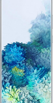 Samsung Galaxy S20 5G (128GB Blue) at £29.00 on Unlimited with Entertainment (24 Month(s) contract) with UNLIMITED mins; UNLIMITED texts; UNLIMITEDMB of 5G data. £73.00 a month.