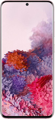 Samsung Galaxy S20 5G (128GB Pink) at £99.00 on Red (24 Month(s) contract) with UNLIMITED mins; UNLIMITED texts; 48000MB of 5G data. £58.00 a month.
