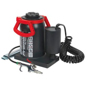 Sealey Sealey AM30 30 Tonne Manual/Air Hydraulic Bottle Jack