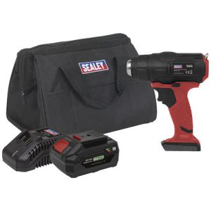Sealey Sealey CP20VHGKIT Cordless Hot Air Gun Kit 20V (Battery, Charger & Bag)