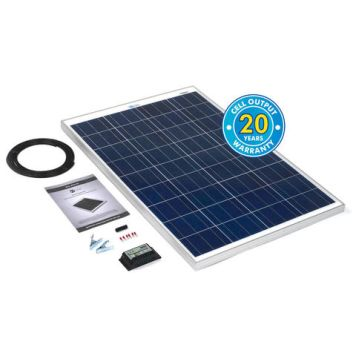 Solar Technology International PV Logic 100Wp Solar Panel Kit & 10Ah Charge Controller