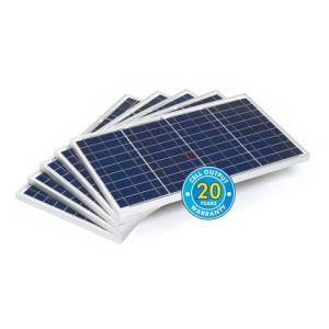 Solar Technology International PV Logic 30Wp Bulk Packed Solar Panels (5 Pack)