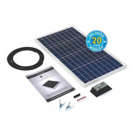 Solar Technology International PV Logic 30Wp Solar Panel Kit & 10Ah Charge Controller
