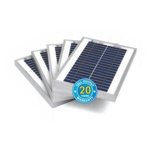 Solar Technology International PV Logic 5Wp Bulk Packed Solar Panels (5 Pack)