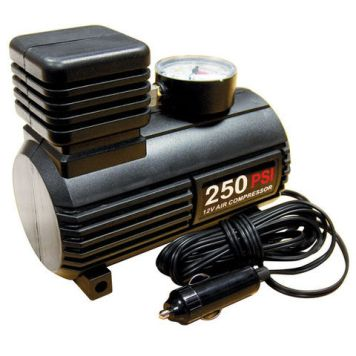 Streetwize 12V Mini Tyre Inflator/Air Compressor