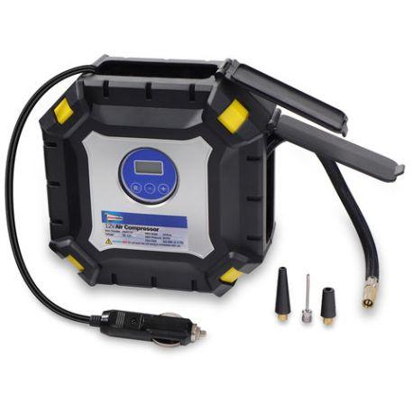 Streetwize Streetwize 12V Auto Cut Off Air Compressor with Light