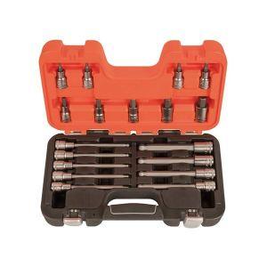 Bahco S18HEX 1/2in Drive Socket Set of 18 Metric
