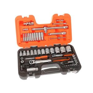 Bahco S560 Socket Set of 56 Metric 1/4 & 1/2in Drive